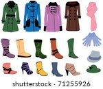 fashion | Shutterstock .eps vector #71255926