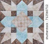 Patchwork Geometric Block From...