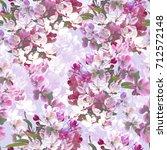 blossom repeat   Shutterstock . vector #712572148