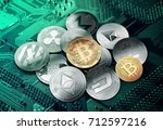 different cryptocurrencies in a ...