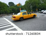 new york city taxi | Shutterstock . vector #71260834