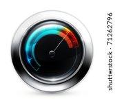speedometer  10eps   Shutterstock .eps vector #71262796