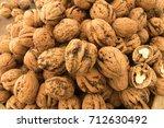 walnuts   Shutterstock . vector #712630492