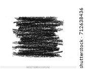 vector marker hand drawn... | Shutterstock .eps vector #712638436