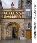 edinburgh  scotland   jyly 28 ... | Shutterstock . vector #712651942