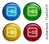safebox multi color gradient...