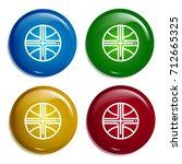 basketball multi color gradient ...