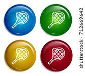 tennis multi color gradient...
