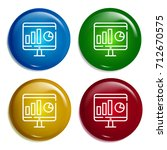 monitor multi color gradient...