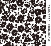 flower illustration pattern | Shutterstock .eps vector #712670962