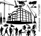 Construction Objects Vector ...