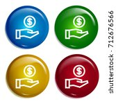 savings multi color gradient...