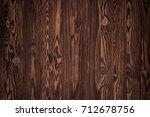 vintage wooden background or...   Shutterstock . vector #712678756