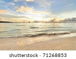 Beautiful Sunset At Boracay ...
