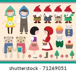 cute element design. cartoon... | Shutterstock .eps vector #71269051