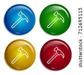 hammer multi color gradient...