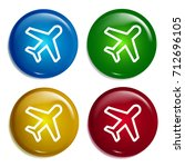 aeroplane multi color gradient...