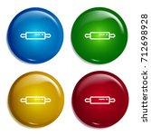 rolling pin multi color...