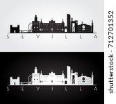 sevilla skyline and landmarks...