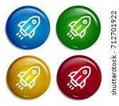 rocket multi color gradient...