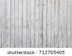 old wooden white wall  old... | Shutterstock . vector #712705405