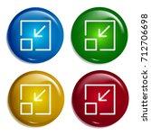minimize multi color gradient...