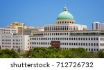 the city hall building in... | Shutterstock . vector #712726732