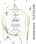 Save The Date Design Template....