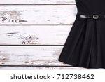 Cropped Image Of Vintage Black...