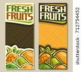 vector vertical banners for... | Shutterstock .eps vector #712754452