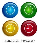 clock multi color gradient...