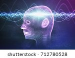 consciousness  metaphysics or...   Shutterstock . vector #712780528