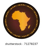 africa,african,backdrop,background,brown,character,circle,continent,country,design,earth,effect,emblem,frame,globe