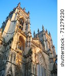 York Minster  York  England.