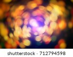 abstract blurred of blue and... | Shutterstock . vector #712794598