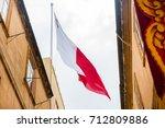 valletta  malta   august 23 ... | Shutterstock . vector #712809886