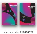 abstract covers background for... | Shutterstock .eps vector #712818892