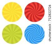vector illustration for swirl... | Shutterstock .eps vector #712822726