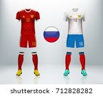 russia home and away soccer...