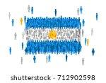 vector argentina state flag...   Shutterstock .eps vector #712902598
