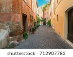 View Of Old Town Italian Narro...