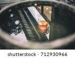 reflection of chinese... | Shutterstock . vector #712930966