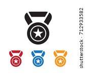 award icon vector illustration | Shutterstock .eps vector #712933582