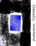 abstract grunge blue dark... | Shutterstock . vector #712943812