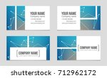 abstract vector layout... | Shutterstock .eps vector #712962172