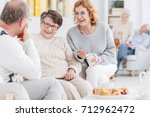 senior club concept  group of... | Shutterstock . vector #712962472