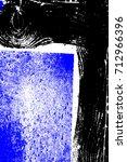 abstract grunge blue dark... | Shutterstock . vector #712966396