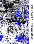 abstract grunge blue dark... | Shutterstock . vector #712974166