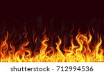 fire background | Shutterstock . vector #712994536