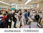 busan  south korea   may 28 ... | Shutterstock . vector #713001022